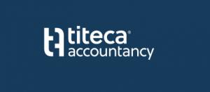 Logo Titeca Acccountancy, contentmarketing en copywritingklant van Het Schrijfhok