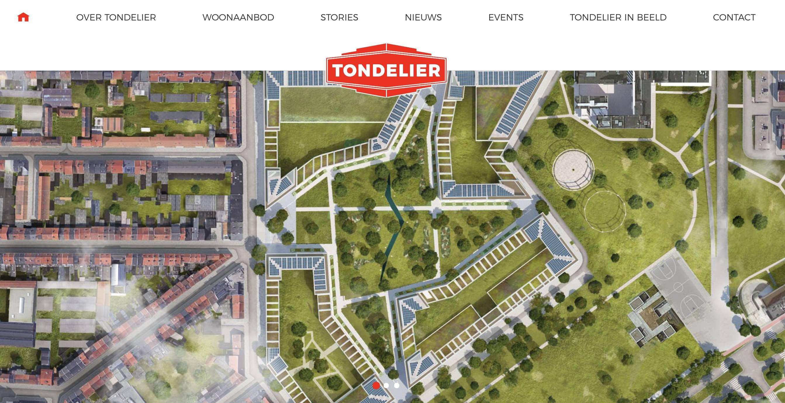 Het Schrijfhok is contentmarketeer & copywriter voor het Tondelier nieuwbouwproject in Gent