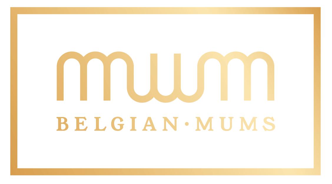 Logo Belgian Mums, merkontwikkeling Het Schrijfhok voor Gediflora