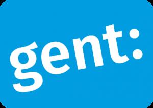 Logo Stad Gent, contentmarketing en copywritingklant van Het Schrijfhok